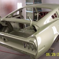 68 Mustang body painted 022