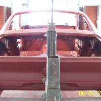 68 Mustang from Bare to Red Oxide 6-1-08 022